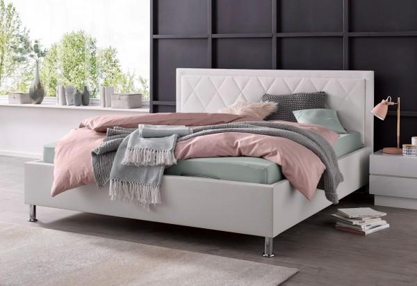 Polsterbett mit Lattenrost Bettkasten mit Matratze Bett 180x200 cm