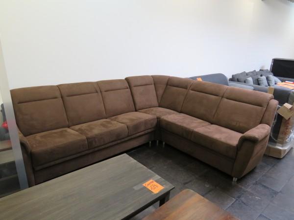 Sofa Wohnlandschaft Couch Garnitur Rundecke Schlaffunktion