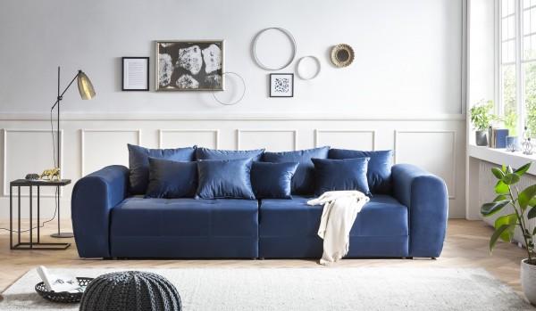 XXL Big Sofa Couch grau Wohnzimmer wohnen Möbel Wurm