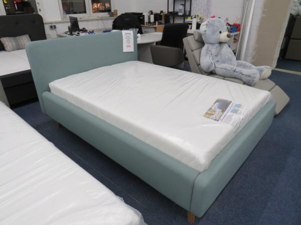 Bett Polsterbett Mint grün Schlafzimmer 140x200 cm