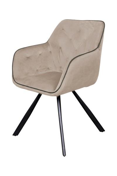 Stuhl Schalenstuhl beige Esszimmer Küchenstuhl Möbel Wurm