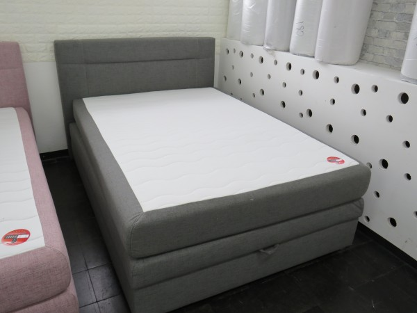 Boxspringbett 120x200 cm mit Bettkasten und Matratze