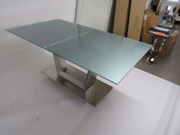 Tisch Esstisch Küchentisch 100x180/240 cm Glastisch Möbel Wurm