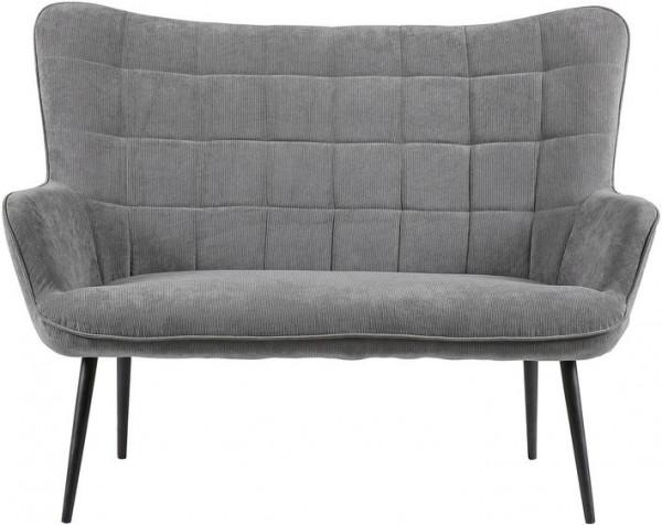 2-Sitzer »Ulla«, mit Cord-Bezug Wohnzimmer Sitzbank