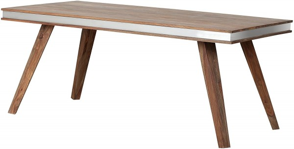 The Wood Times Esstisch Sheva, FSC100%, Sheesham Holz, Braun, 178 x 90 x 76 cm