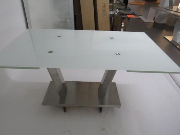 Tisch Esstisch Küchentisch 90x160/250 cm Glastisch Möbel Wurm