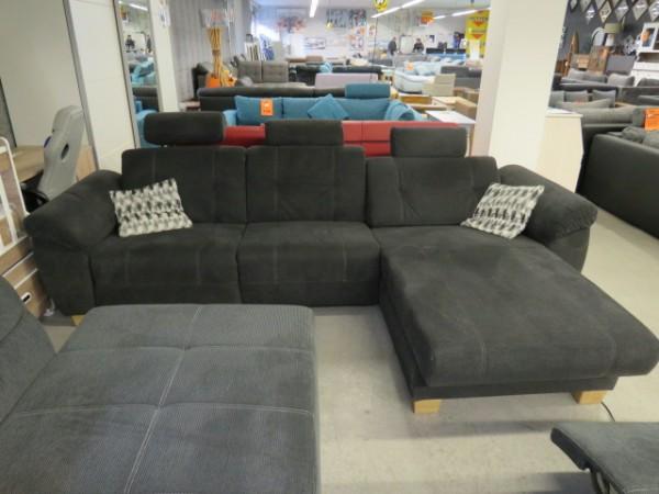 Elektrisches Ecksofa Sofa Couch mit Relaxfunktion