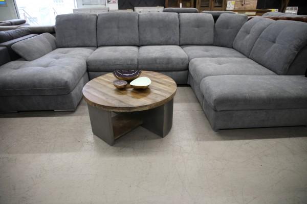 XXL Wohnlandschaft Couch Sofa Schlaffunktion Bettkasten Möbel